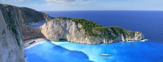 Zante Shipwreck Beach Zakynthos Banner
