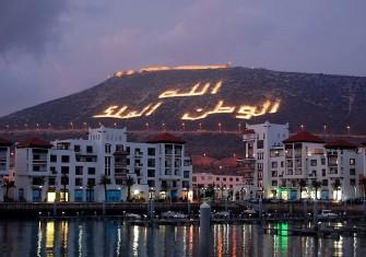 Agadir-Marina-nuit-et-kasbah
